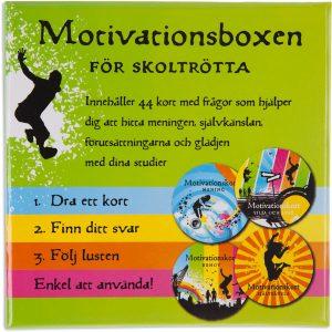 Motivationsboxen för skoltrötta